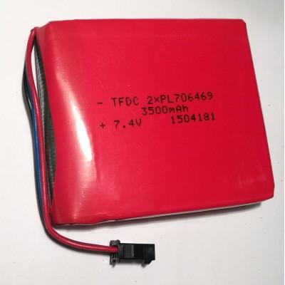 Батарея Hantek Li-ion 3500 мА/час 7,4v для портативных осциллографов