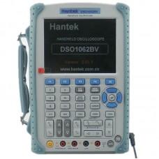 Hantek DSO1062BV портативный осциллограф (2 канала, 60МГц полоса, 1GSa/s, 1M память, мультиметр, help)