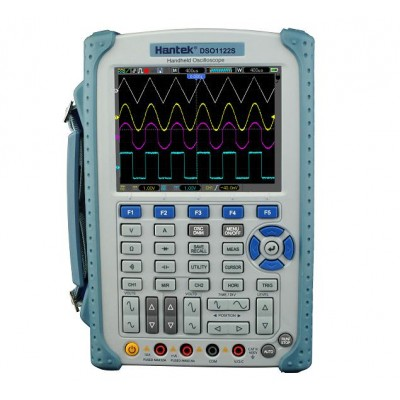 Hantek DSO1122S портативный осциллограф (2 канала, 100МГц полоса, 1GSa/s, 1M память, мультиметр, изол. каналы)
