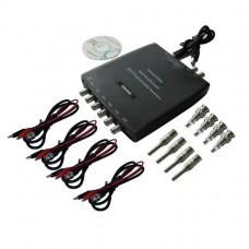 Hantek Hantek1008A USB осциллограф (8 канала, 100КГц полоса, 2,4MSa/s, 4K память)