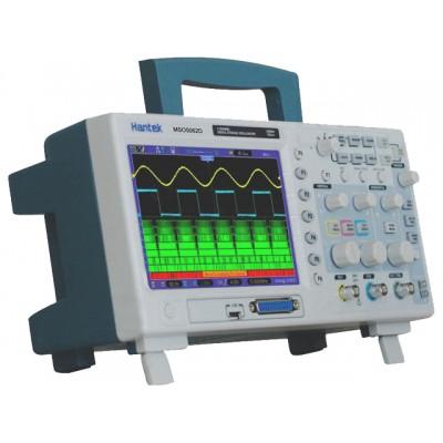 Hantek MSO5062D осциллограф смешанных сигналов (2 канала, 60МГц полоса, 1GSa/s, 1M память, лог. анализатор)