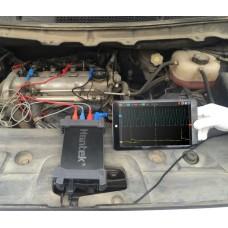 Hantek Hantek6074BE Kit I USB осциллограф для автодиагностики (4 канала, 70MГц полоса, 1GSa/s, 64K память)