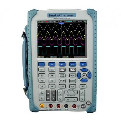 Hantek DSO1062S портативный осциллограф (2 канала, 60МГц полоса, 1GSa/s, 1M память, мультиметр, изол. каналы)