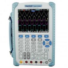Hantek DSO1102BV портативный осциллограф (2 канала, 100МГц полоса, 1GSa/s, 1M память, мультиметр, help)