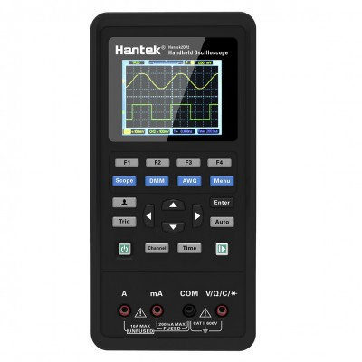 Hantek Hantek2D72 портативный осциллограф (2 канала, 70МГц полоса, 250MSa/s, 6K память, ген.)