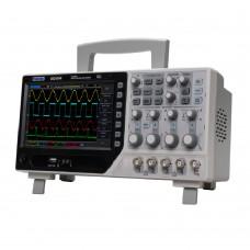 Hantek DSO4084B настольный осциллограф (4 канала, 80МГц полоса, 1GSa/s, 40K память)