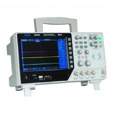 Hantek DSO4084C настольный осциллограф (4 канала, 80МГц полоса, 1GSa/s, 40K память, генератор)