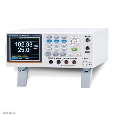 Instek GOM-805 Прецизионный микроомметр