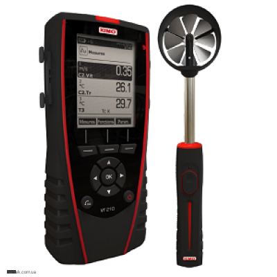 Kimo VT 210 H термо-гигро-анемометр
