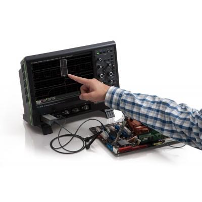 LeCroy HDO6104 Цифровой осциллограф: 4 канала, 1ГГц полоса пропускания, 2.5ГГц/кан. частота дискретизации, 50Мб/кан., АЦП 12 бит (15 бит в режиме ERES), 31см сенсорный экран