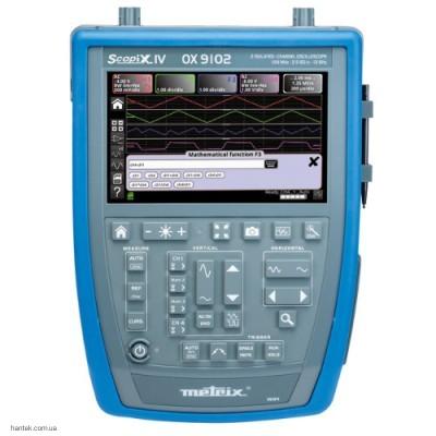 Metrix ОХ 9102 цифровой осциллограф