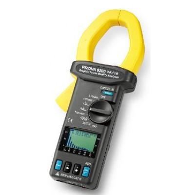 Prova 6200 Анализатор качества эл. энергии (0-3000A, 4-600V)