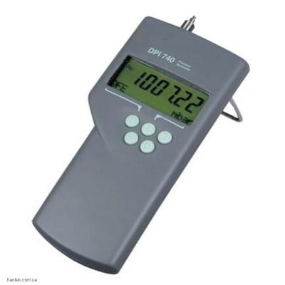 ge druck DPI 740 портативный цифровой барометр