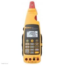 Fluke 773 калибратор-мультиметр с клещами для малых токов