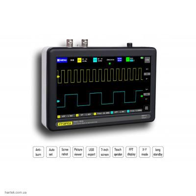 FNIRSI 1013D Портативный цифровой осциллограф