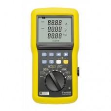 Chauvin Arnoux C.A 8220 Анализатор качества эл. энергии однофазный и инструмент для диагностики электродвигателей