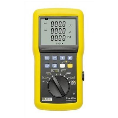Анализатор качества эл. энергии C.A 8220 однофазный и инструмент для диагностики электродвигателей