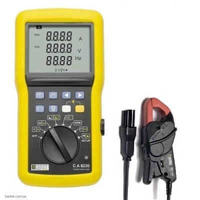 Chauvin Arnoux C.A 8220 MN93A Анализатор качества эл. энергии однофазный
