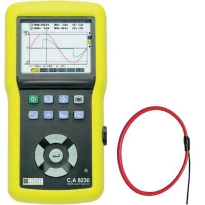 C.A 8230 AmpFlex 450 Анализатор качества эл. энергии однофазный с токовыми клещами AmpFlex 450 (6500A)