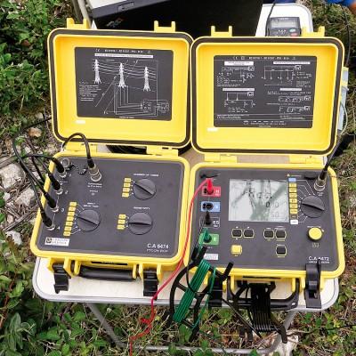 Chauvin Arnoux C.A 6474 модуль к C.A 6472 измеритель сопротивления заземления и заземляющих устройств ЛЭП