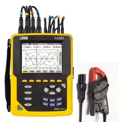 C.A 8335 MN93A Анализатор качества эл. энергии (+комплект ток. клещей MN93A)