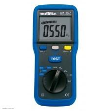 Metrix MX 407 Измеритель сопротивления изоляции