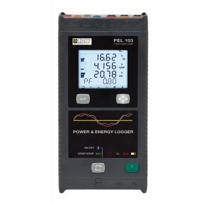 PEL103 Регистратор мощности и энергии с дисплеем