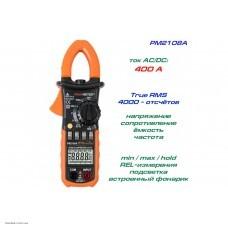 Peakmeter PM2108A токоизмерительные клещи