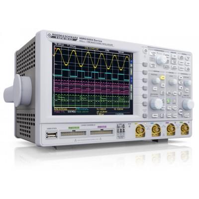 """Rohde & Schwarz HMO3054 Цифровой осциллограф: 500 МГц, 4 кан., до 16 логических каналов опционально, частота дискретизации 4 Гв/с, память 8 Мб/канал, верт: 1мВ...5В/дел, гор.:12 делений, 6.5"""" TFT VGA дисплей, DVI выход, USB/RS-232"""