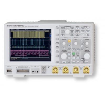"""Rohde&Schwarz HMO1522 Цифровой осциллограф: 150 МГц, 2 кан., до 8 логических каналов опционально, частота дискретизации 2 Гв/с, память 1 Мб/канал, верт: 1мВ...5В/дел, гор.:12 делений, 6.5"""" TFT VGA дисплей, DVI выход"""