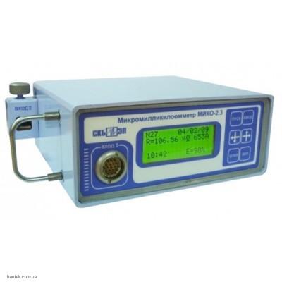 СКБ ЭП МИКО-2.3 микроомметр